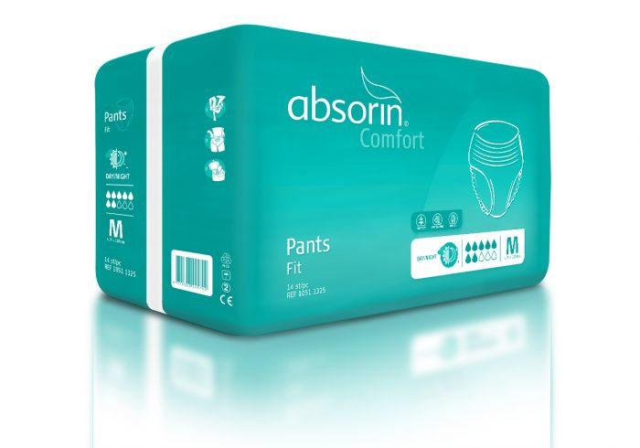 Absorin Comfort Pants Fit M