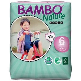 Bambo Nature Pants 6 (luierbroekje) - 6 pakken