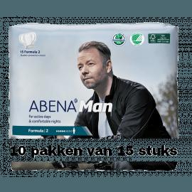 Abena Man Formula 2   10 pakken van 15 stuks
