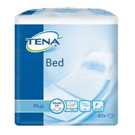 Tena Bed Onderlegger Plus - 60 x 60 cm - 40 st. - 4 pakken