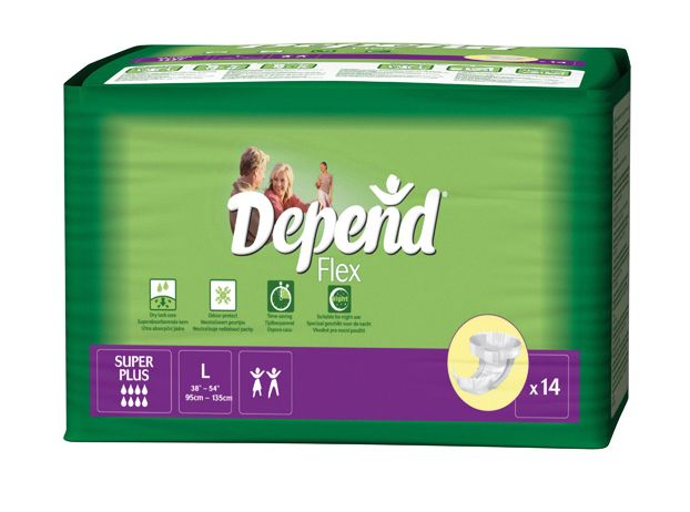 Depend Flex Super+ Large