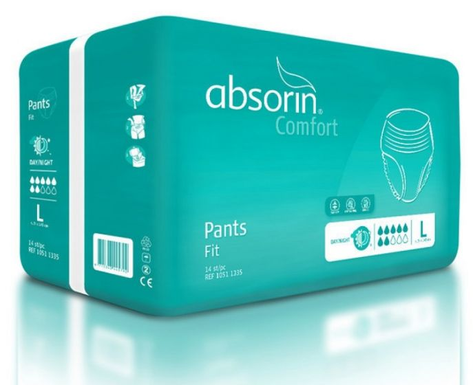 Absorin Pant Comfort Fit L