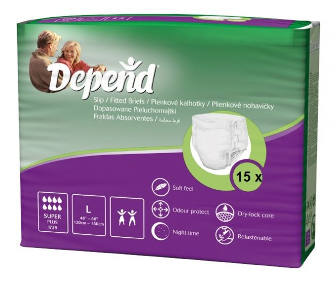 Depend Slip Super Plus - Large