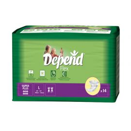 Depend Flex Super Plus Large