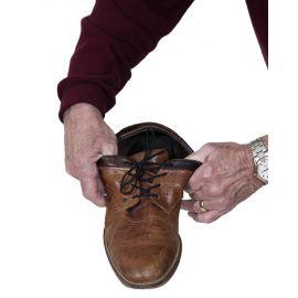 Elastische schoenveters zwart 61 cm