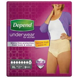 Depend Pants Vrouw Maximum - Extra Large - 5 pakken