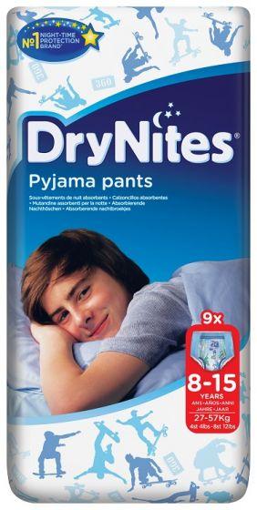 DryNites Boys Broekjes 8-15 jaar  27-57 kg.