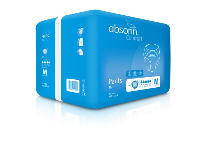 Absorin Comfort Pant+ L