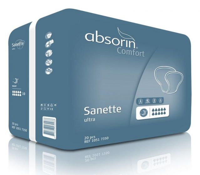 Absorin Comfort Sanette Ultra