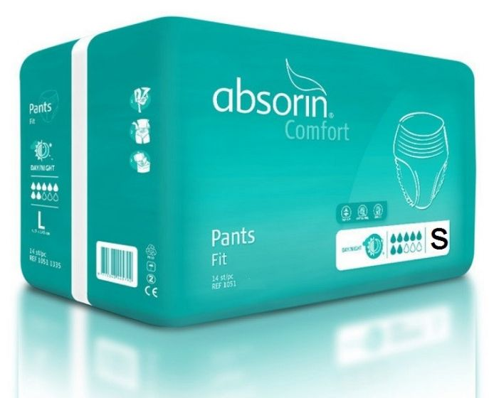 Absorin Pant Comfort Fit S