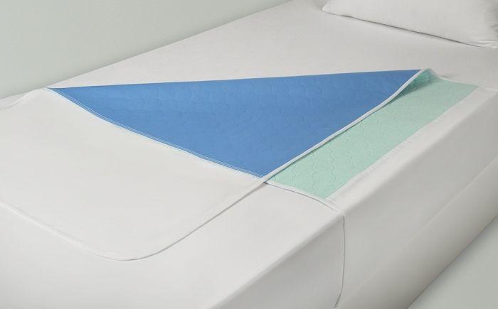 Hygion | wasbare onderlegger met instopstroken - 80 x 90 cm.
