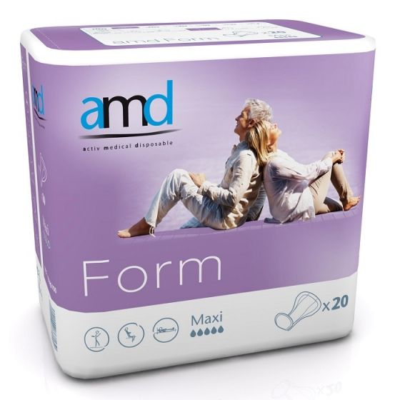 AMD Form Cotton Feel Maxi - 20 stuks