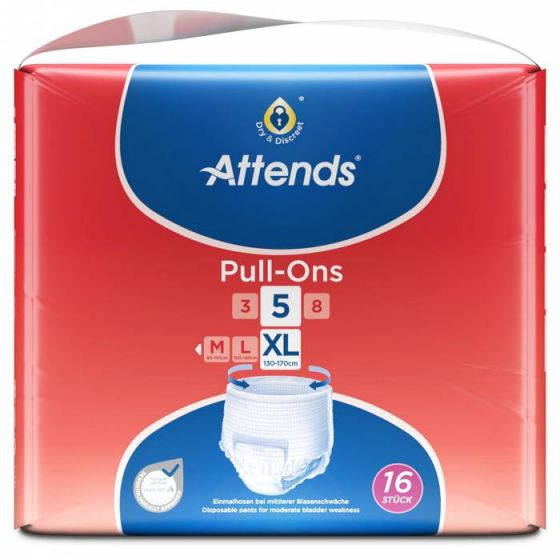 Attends Pull-Ons Plus 5 XL