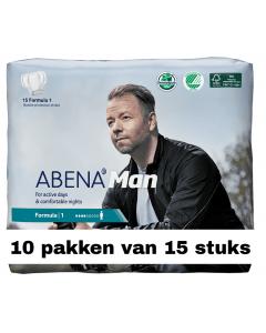 Abena Man Formula 1 | 10 pakken van 15 stuks