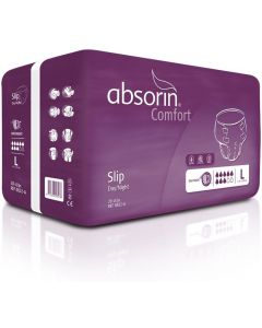 Absorin Comfort Slip Day Night LARGE