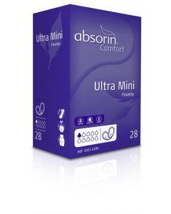 Absorin Comfort Finette Ultra Mini - 10 pakken