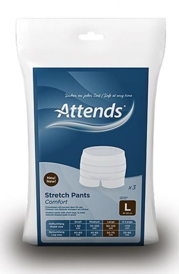 Attends Stretch Pants Comfort Large