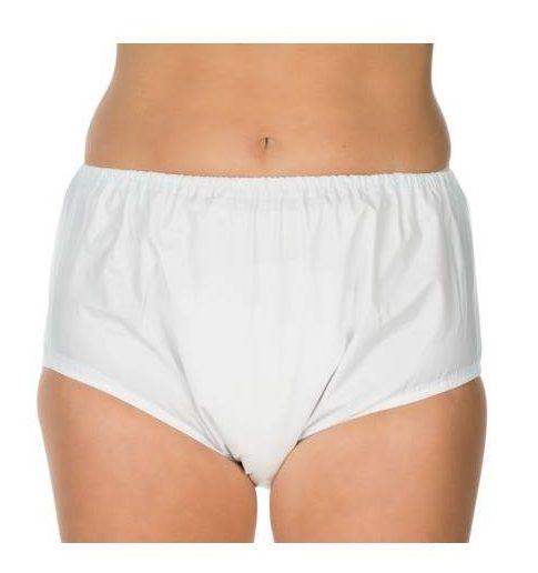 Plastic broekje (PVC) - dames / heren -  smal elastiek