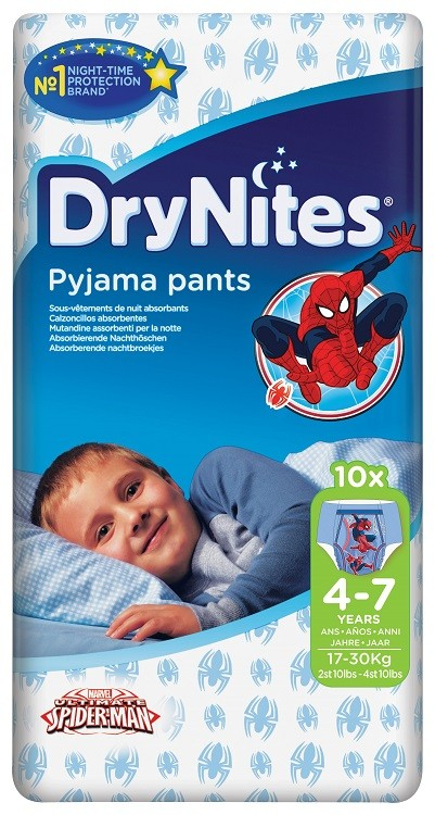 drynites for boys