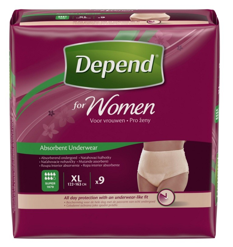 Depend Pants For Women