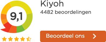 Kiyoh beoordeling 9.1
