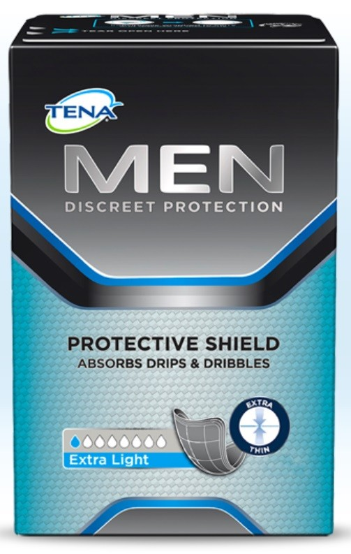 tena men discreet protection extra light